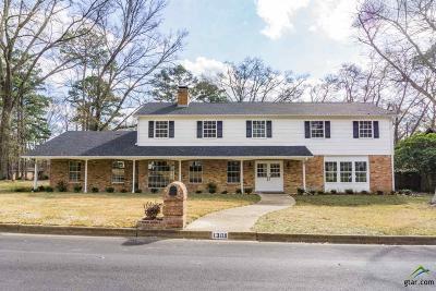 Tyler Single Family Home For Sale: 1309 Kingspark Dr