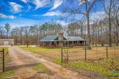 Longview Single Family Home For Sale: 1529 Maple Springs