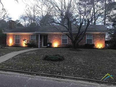 Gilmer Single Family Home For Sale: 1716 Azalea
