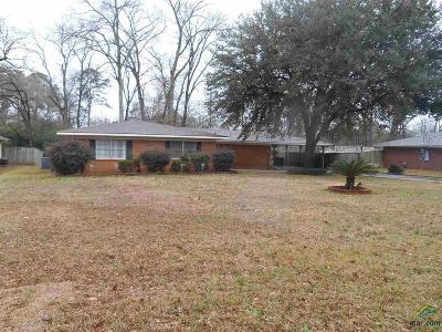Longview Single Family Home For Sale: 206 E Twilight