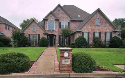 Tyler Single Family Home For Sale: 2219 Firestone Circle
