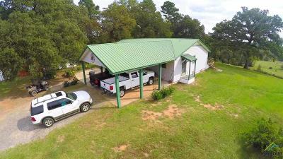 Upshur County Single Family Home For Sale: 535 Meadowlark