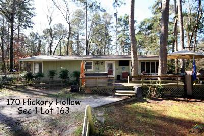 Holly Lake Ranch TX Single Family Home For Sale: $89,000