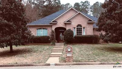 Tyler Single Family Home For Sale: 4003 Lazy Creek