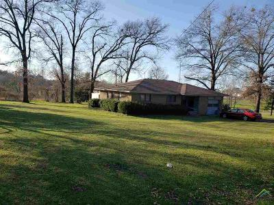 Quitman TX Single Family Home For Sale: $55,000
