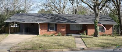Tyler Single Family Home For Sale: 2920 Birdwell