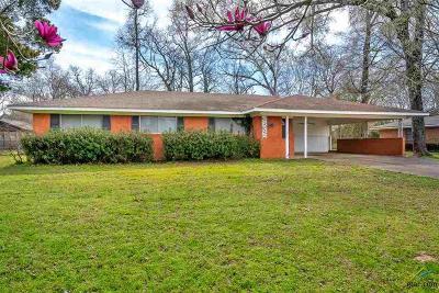 Kilgore Single Family Home For Sale: 2810 Green Hills Dr.