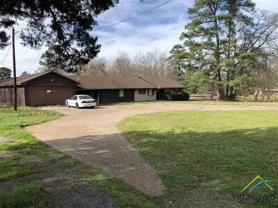 Gilmer Single Family Home For Sale: 423 Old Coffeeville Road