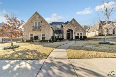 Tyler Single Family Home For Sale: 2010 Dueling Oaks