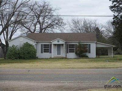 Kilgore Single Family Home For Sale: 4606 Fm 1252