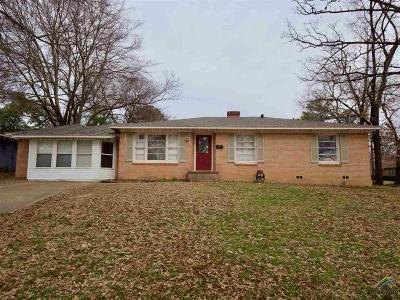 Tyler Single Family Home For Sale: 1524 Pettit