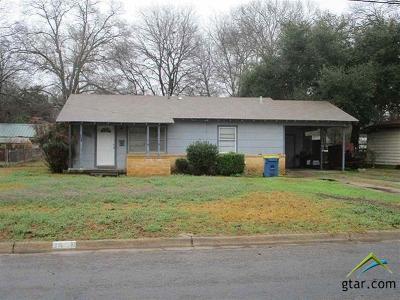 Kilgore Single Family Home For Sale: 3408 Larkspur