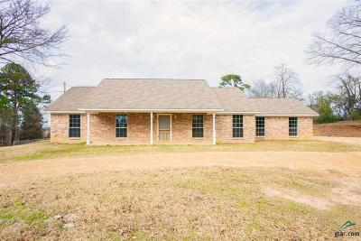 Gilmer Single Family Home For Sale: 1636 Private Road 4012