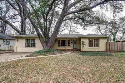 Tyler Single Family Home For Sale: 1225 Graham Dr