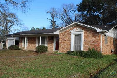 Jacksonville TX Single Family Home For Sale: $109,900