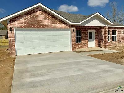Pittsburg TX Single Family Home For Sale: $142,800
