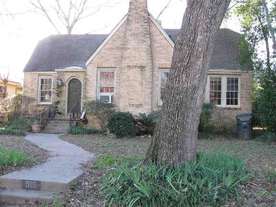 Tyler TX Single Family Home For Sale: $40,000