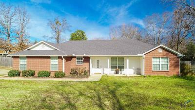 Gilmer TX Single Family Home For Sale: $184,900