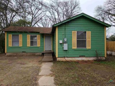 Tyler TX Single Family Home For Sale: $49,000