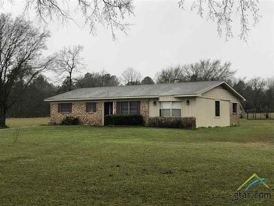 Upshur County Single Family Home For Sale: 1784 Red Maple