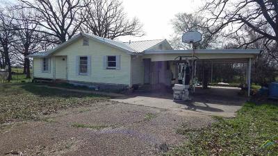 Winnsboro TX Single Family Home For Sale: $89,000