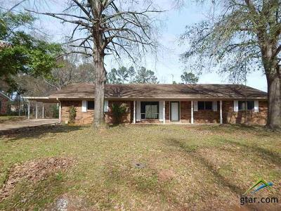 Gilmer Single Family Home For Sale: 152 N East Mountain Road