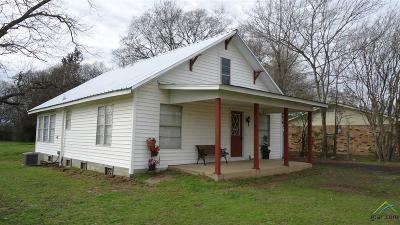 Winnsboro TX Single Family Home For Sale: $79,500
