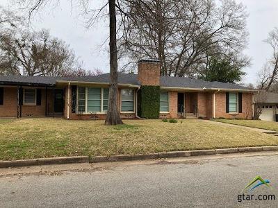 Tyler Single Family Home For Sale: 605 Zelwood