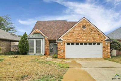 Longview Single Family Home For Sale: 213 Spillway Dr