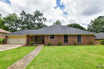 Tyler Single Family Home For Sale: 710 Carriage Dr