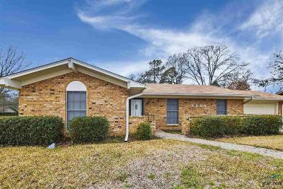 Tyler Single Family Home For Sale: 2606 N Confederate