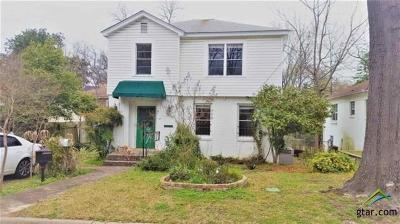 Tyler Single Family Home For Sale: 407 W Shaw