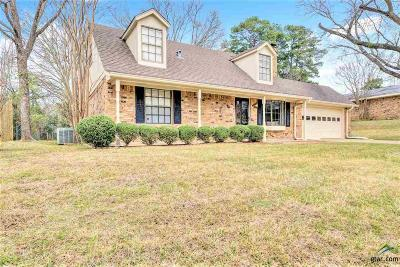 Tyler Single Family Home For Sale: 2512 Melody Lane