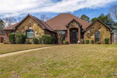 Tyler Single Family Home For Sale: 7601 Deer Ridge Lane