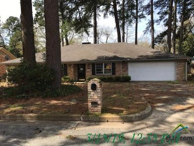 Tyler Single Family Home For Sale: 8229 Purdue