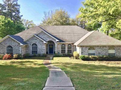 Tyler Single Family Home For Sale: 1261 Santa Fe Trail