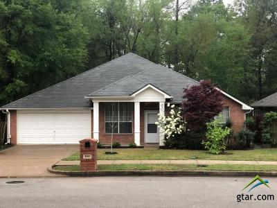 Tyler Single Family Home For Sale: 618 Winding Brook Lane
