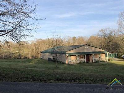 Upshur County Single Family Home For Sale: 1888 Zinnia Road