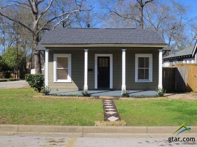 Tyler Single Family Home For Sale: 500 E Rix