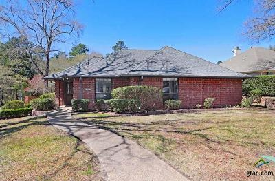 Tyler Single Family Home For Sale: 3700 Pine Bluff