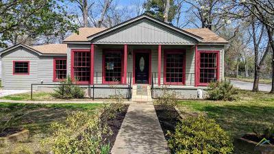 Tyler Single Family Home For Sale: 2501 W Rosemont St