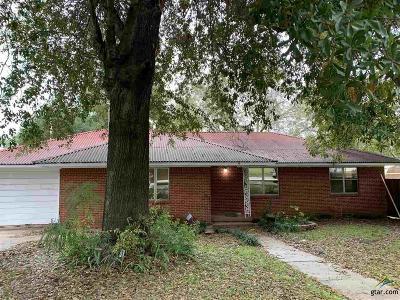 Upshur County Single Family Home For Sale: 410 Tyler