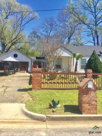 Tyler Single Family Home For Sale: 1509 Crescent