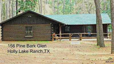 Holly Lake Ranch TX Single Family Home For Sale: $175,000