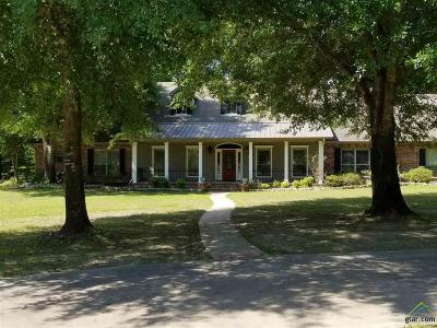 Gilmer TX Single Family Home For Sale: $415,000