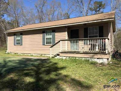 Gilmer TX Single Family Home For Sale: $66,900