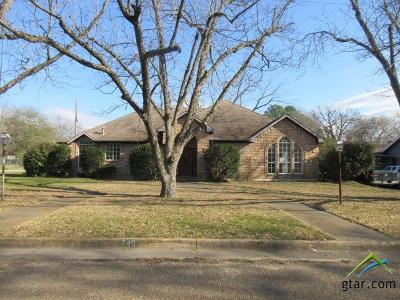 Mineola TX Single Family Home For Sale: $128,700