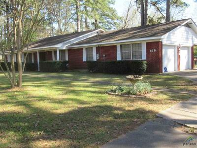 Longview Single Family Home For Sale: 610 Peach Orchard