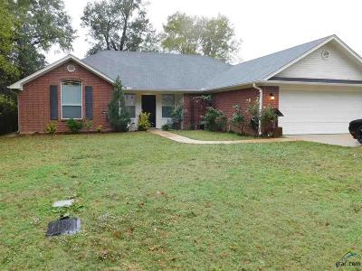 Longview Single Family Home For Sale: 113 Country Club Drive