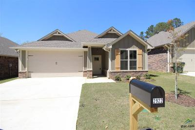 Tyler Single Family Home For Sale: 2922 Meadow Brook Trails